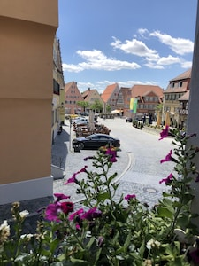 Romanesque Cloister, Feuchtwangen, Bavaria, Germany