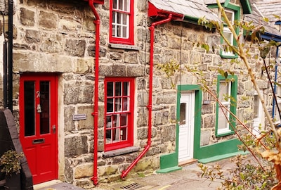 One of Harlech's oldest streets