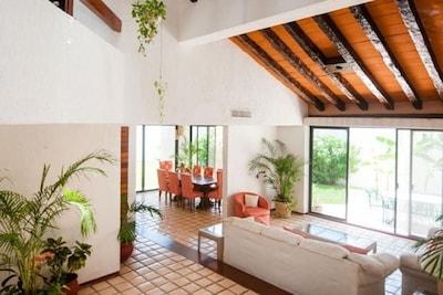 Cancun Villa Agave con acceso a la playa