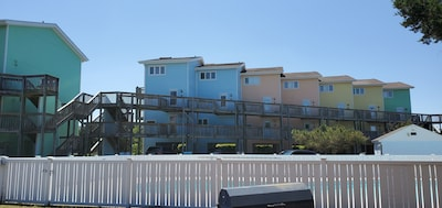 Unit 209N is the Second Blue Building