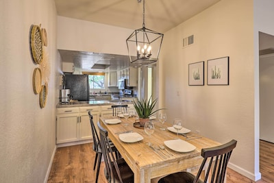 Townhome Interior   Dining Room   Step-Free Entry to Property