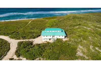 Plage de Mudjin Harbor, Conch Bar, Île de Middle Caicos, Turks et Caïcos