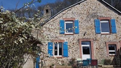 Parné-sur-Roc, Mayenne, France