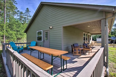 Milton Vacation Rental | 1-Story Cottage | 2BR | 1BA | 809 Sq Ft