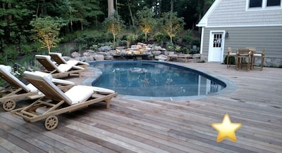 Access to private saltwater family pool (seasonal use)