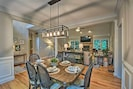 Formal Dining Room | Dishware Provided