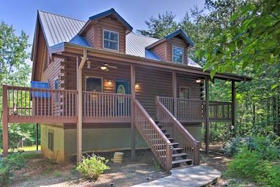 Lake Laure Vacation Rental   2BR   2BA   1,200 Sq Ft   2-Story Cabin
