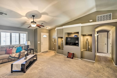 Fort Mohave Vacation Rental | 4BR | 2.5BA | 1-Story House | 2,000 Sq Ft