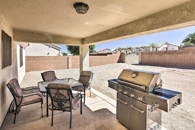 Furnished Patio | Gas Grill