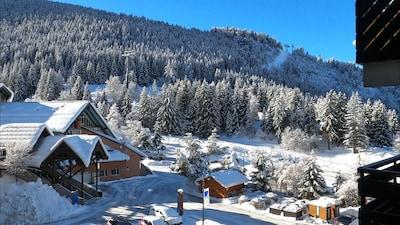 Remontée mécanique de Lama, Oz, Isère, France