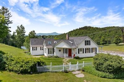 Adams Family Farm, Wilmington, Vermont, USA