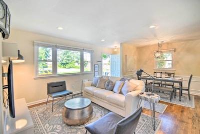 Living Room   Sleeper Sofa   Free WiFi   Central A/C & Heat