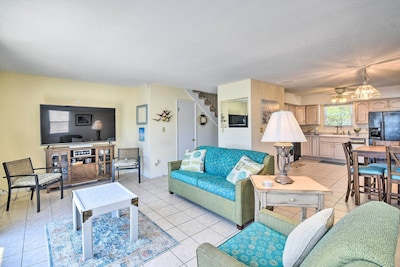 Hampton Vacation Rental | 2BR | 2BA | Stairs Required for Access | 1,200 Sq Ft