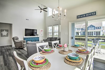 Millville Vacation Rental | 4BR | 3.5BA | 1,712 Sq Ft | Step-Free Access
