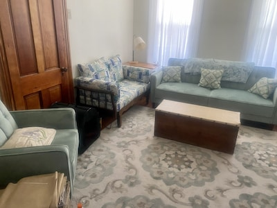 Parlor with sleeper sofa