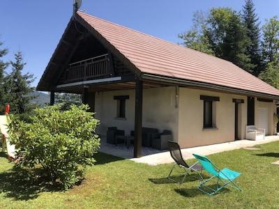 Station de La Planche des Belles Filles, Plancher-les-Mines, Haute-Saone, France