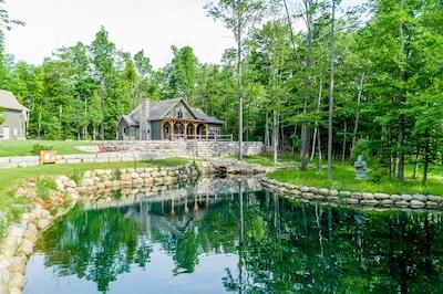 Papineau Lake, Hastings Highlands, Ontario, Canada