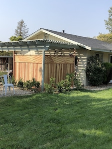 Recently installed privacy screen