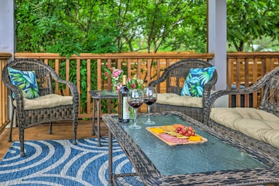 Private Back Porch   2-Story Home