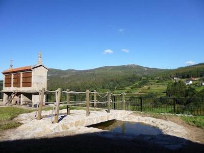 Campo Lameiro, Galice, Espagne