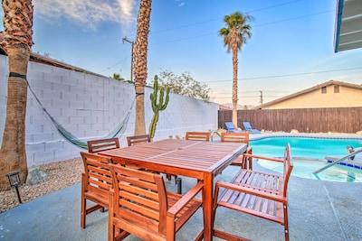 Desert Hot Springs Vacation Rental | 3BR | 2BA | 1,280 Sq Ft | Single-Story Home
