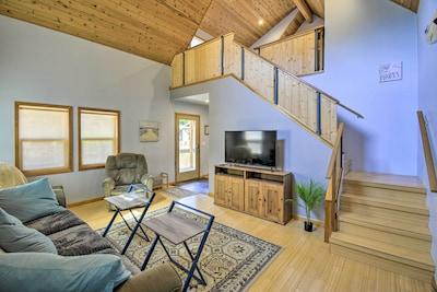 Westport Vacation Rental Cabin | 1BR | 1BA | 2 Stories | 700 Sq Ft