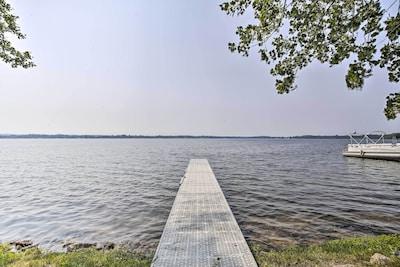 Cadillac Lake Park and Boat Dock, Cadillac, Michigan, États-Unis d'Amérique
