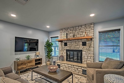 Kerrville Vacation Rental   2BR   2BA   1-Story Home   Step-Free Access