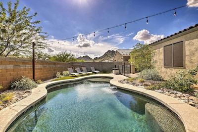 Queen Creek Vacation Rental | 5BR | 3BA | Step-Free Access | 1-Story Home