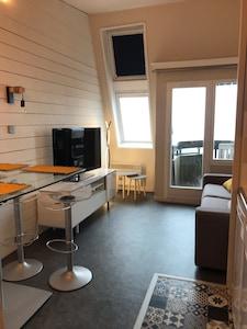 Skilift Avoriaz, Morzine, Haute-Savoie (Département), Frankreich