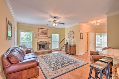 Dahlonega Vacation Rental | 3BR | 2.5BA | Stairs Required | 2,300 Sq Ft