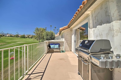 Private Balcony | Gas Grill | Golf Course Views