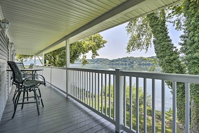 Port Deposit Vacation Rental   2BR   2BA   2,100 Sq Ft   Stairs Required