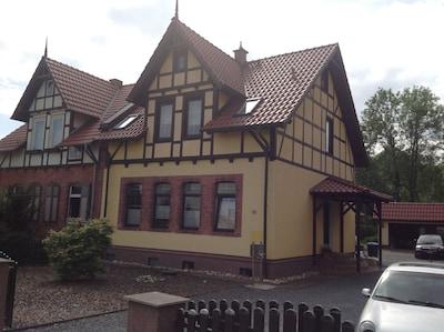 Rennsteig, Bleicherode, Thüringen, Deutschland