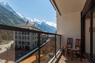 Centre-ville de Chamonix, Chamonix-Mont-Blanc, Haute-Savoie (département), France