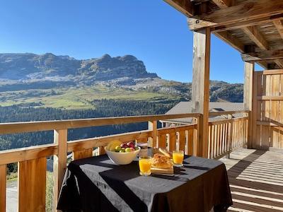 Chède, Mont-Saxonnex, Haute-Savoie, France